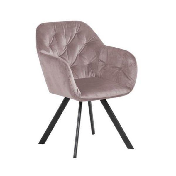 Krėsliukas DIVA 57x61x81h švelniai rožinė