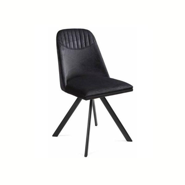 Kėdė ROUND 46x55x86h juoda