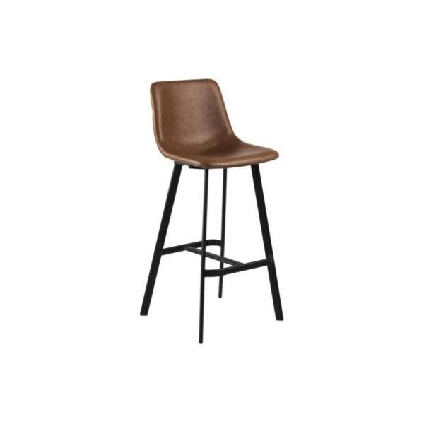 Baro kėdė OREGON 46.5x50x103h konjako ruda
