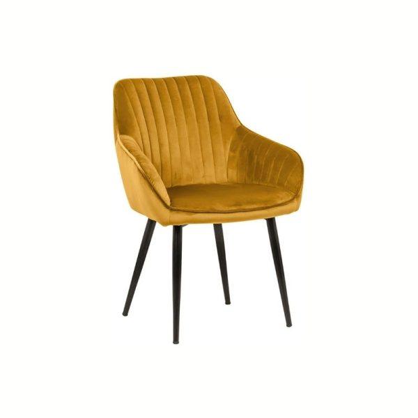 Krėsliukas TURIN 60x61x84h turkio spalvos