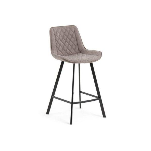 Pusbario kėdė ADELA 50x53x95h taupe