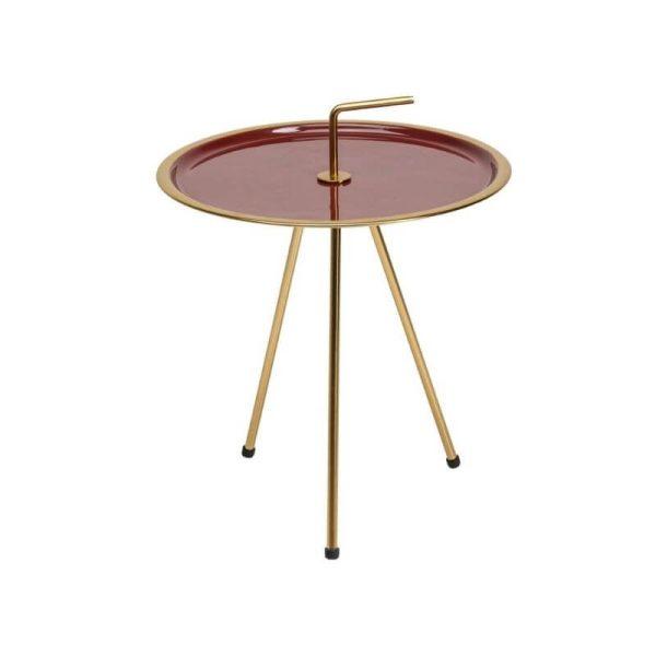 Šoninis staliukas MIAMI RED 42x42x51h
