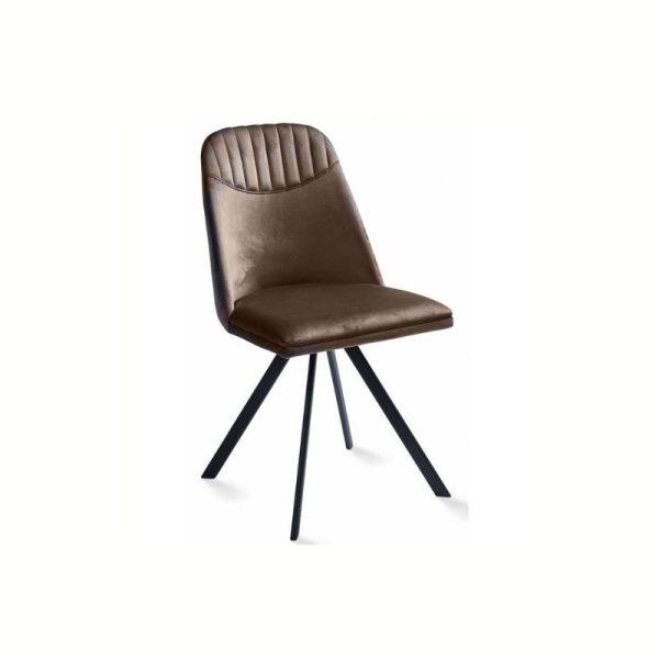 Kėdė ROUND 46x55x86h rusva