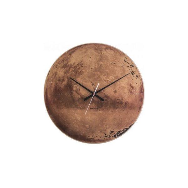 Laikrodis MARS Ø60 vario rudas
