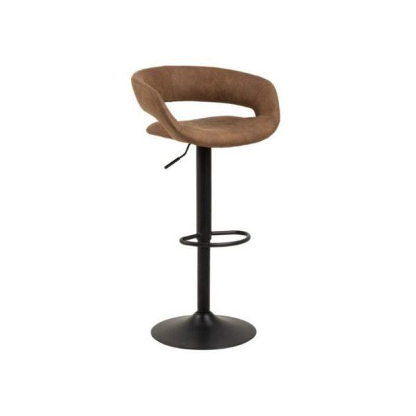 Baro kėdė GRACE 54.5×48.5x104h šviesiai ruda