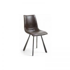 Kėdė TRAP 45x49x86h tamsiai ruda