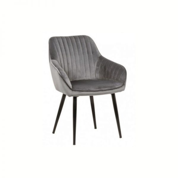 Krėsliukas TURIN 60x61x84h pilko sidabro