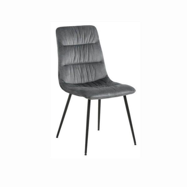 Kėdė KARLA 47x57x92h pilka