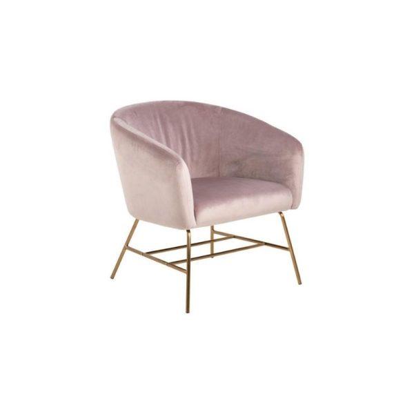 Krėsliukas Ramsey 72x67x76h rožinės spalvos
