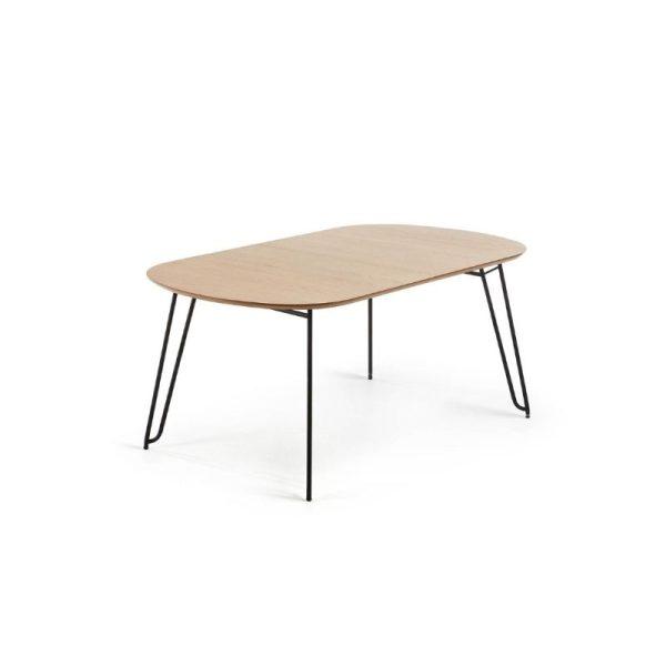 Išskleidžiamas stalas NOVAC 140(220)x90x75h šviesiai rudas