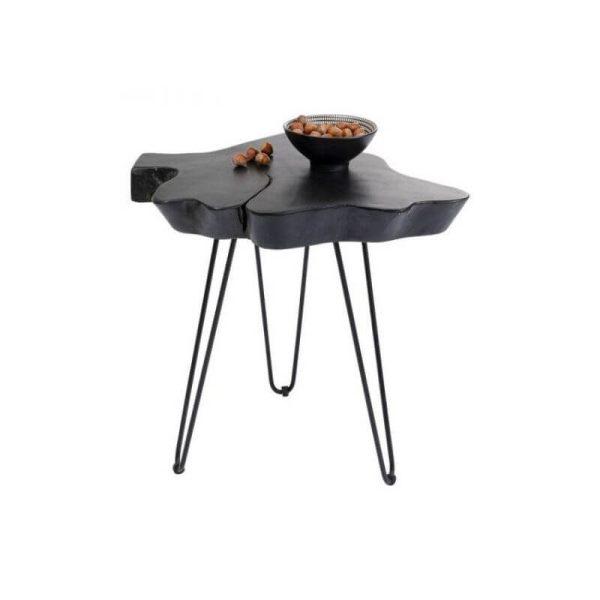 Šoninis staliukas ASPEN 50x50h juodas