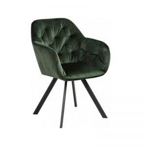 Krėsliukas DIVA 57x61x81h samanų žalias (sukasi)