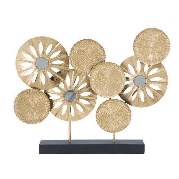 Dekoracija PANEL 50x40h auksinis