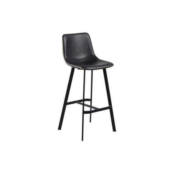 Baro kėdė OREGON 46.5x50x103h juoda