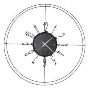 Laikrodis VOYAGER Ø70 juodas