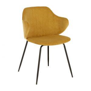 Kėdė MUSTARD 54x55x79h geltona