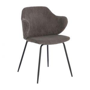 Kėdė MUSTARD 54x55x79h pilka