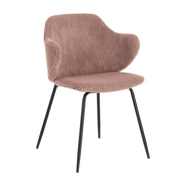 Kėdė MUSTARD 54x55x79h rožinė