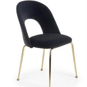 Kėdė MATERA 54x59x88H juoda spalva