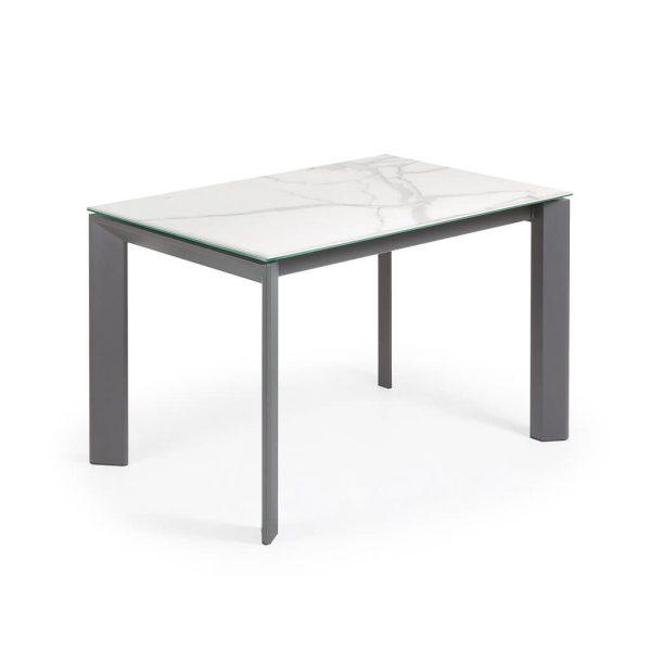 Išskleidžiamas stalas ATTA 120(180)x80x76h Kalos Blanco