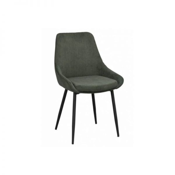 Kėdė SIERRA 49x55x85h tamsiai žalia