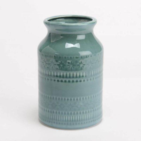 Vaza TURQUOISE 10x17h turkio