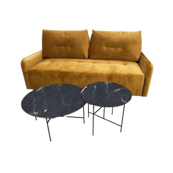 Miegamoji sofa TED 225x125x98h garstyčių