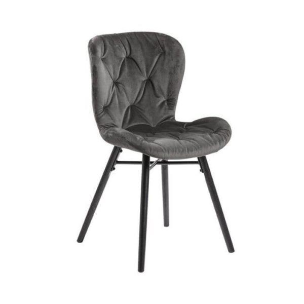 Kėdė VITA 47x53x82h tamsiai pilka