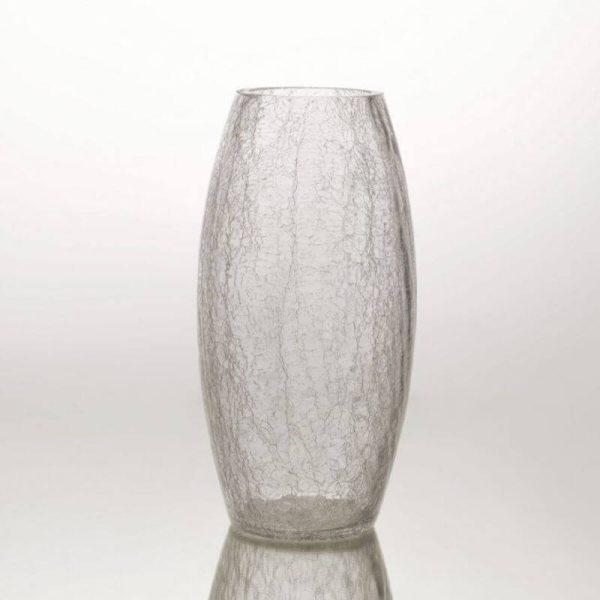 Vaza GLASS 12x30h skaidri