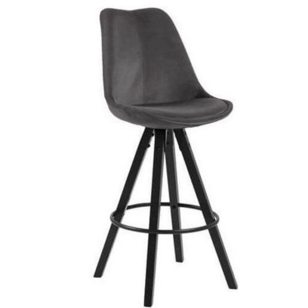 Baro kėdė DIMA 48x55x111h pilka