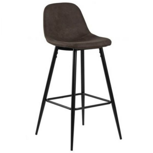 Baro kėdė WILMA 46x51x101h tamsiai pilka