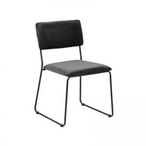 Kėdė JAZZ 50x53x80h tamsiai pilka