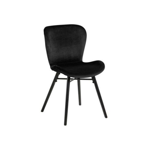 Kėdė VITA 47x53x82h juodos spalvos