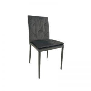 Kėdė SANTA 44x53x89h tamsiai pilka