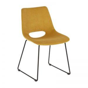 Kėdė ZIGGY 49x55x79h garstyčių