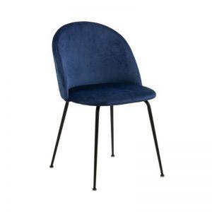 Kėdė RETRO 50x54x81h mėlyna