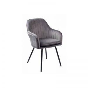 Krėsliukas MOREN 58x60x85h tamsiai pilkas