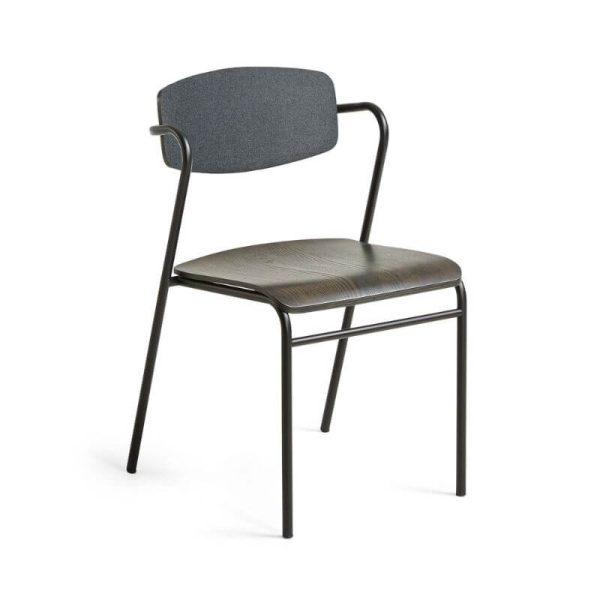 Kėdė MILIAN 48x49x78h tamsiai ruda