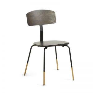 Kėdė MILIAN 43x49x82h tamsiai ruda