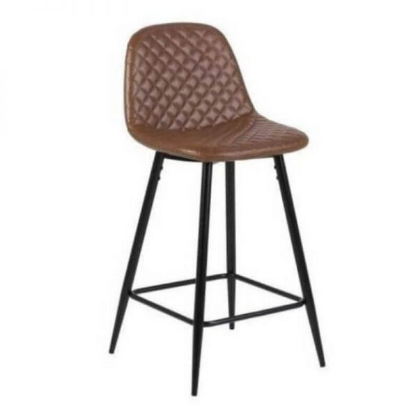 Pusbario kėdė WILMA 43x48x91h ruda