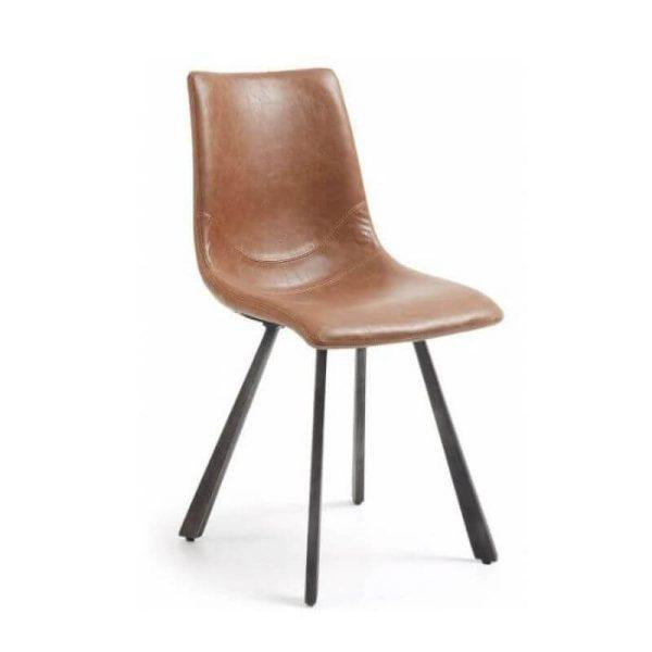 Kėdė TRAC 45x49x86h konjako ruda