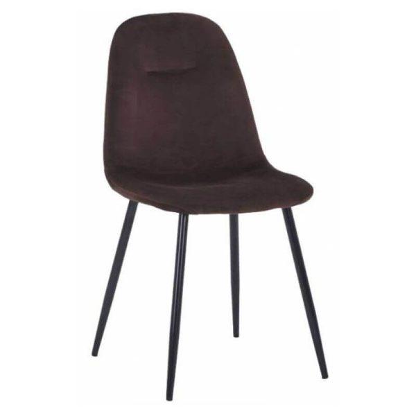 Kėdė CONNY 44x54x85h tamsiai ruda