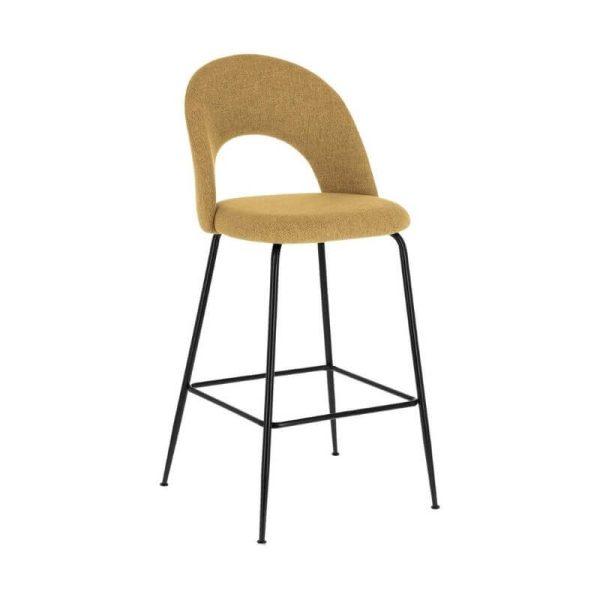 Pusbario kėdė MAHALIA 54x53x98h garstyčių