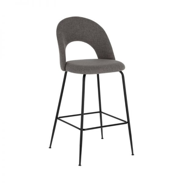 Pusbario kėdė MAHALIA 54x53x98h pilka