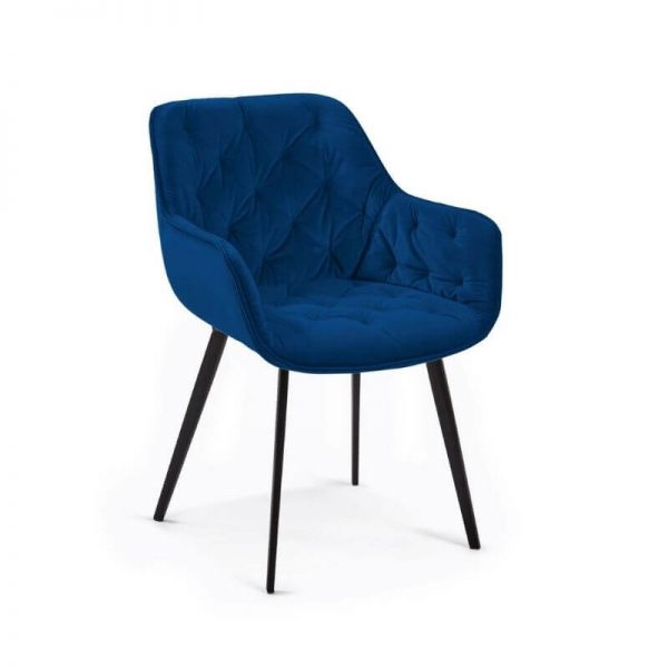 Krėsliukas MULDER 58x61x81h mėlynas