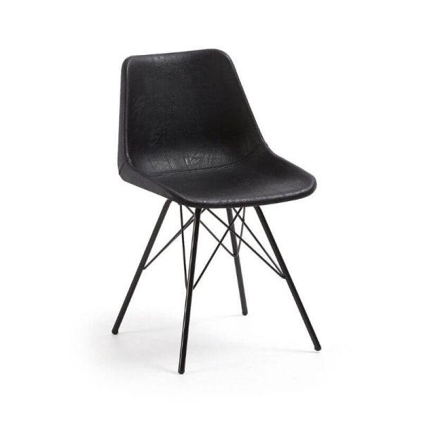 Kėdė LEGRAND 46x50x78h juoda
