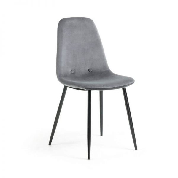 Kėdė LISSY 46x50x86h pilka
