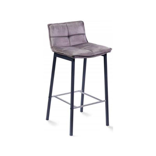 Pusbario kėdė LUNA 40x46x89h kapucino rudos