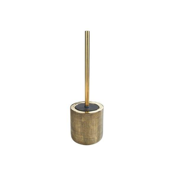 Tuolėto šepetys RIVARA ø11.50x40h sendinto aukso