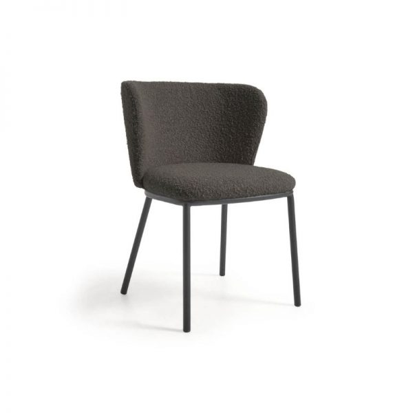 Kėdė CISELIA 55x52x75h juoda